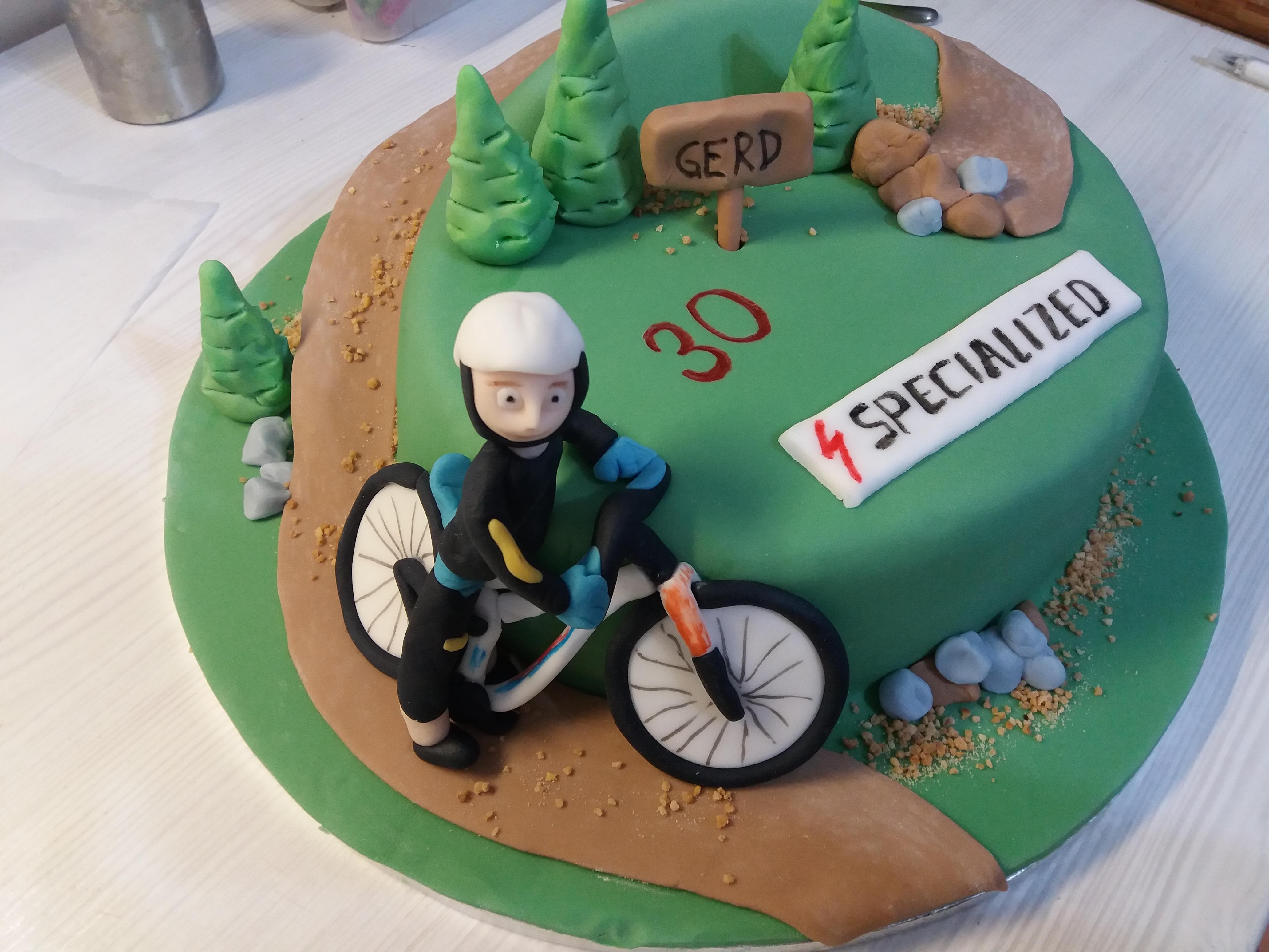 Fahrrad Torte