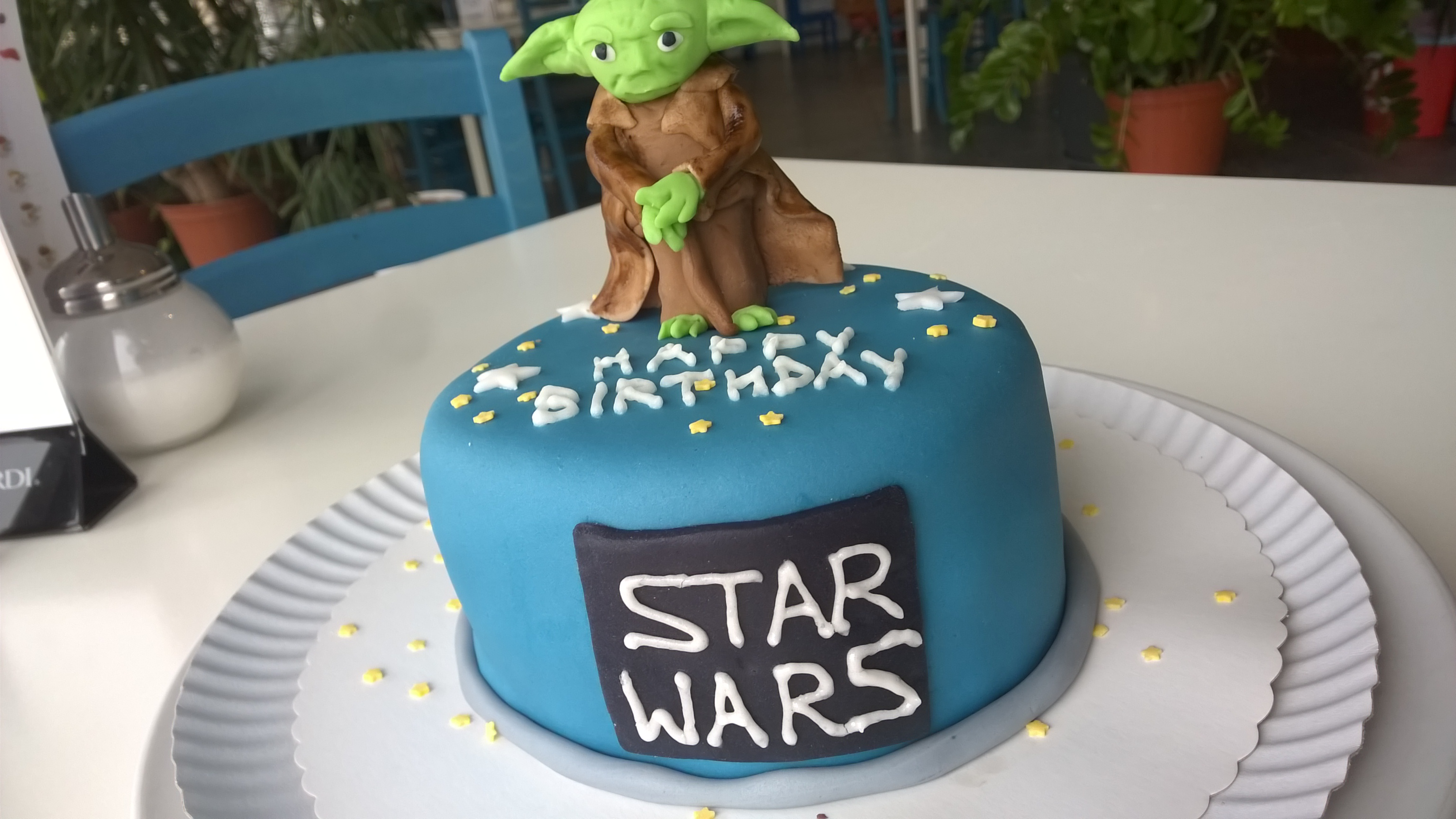 Star Wars Yoda Torte