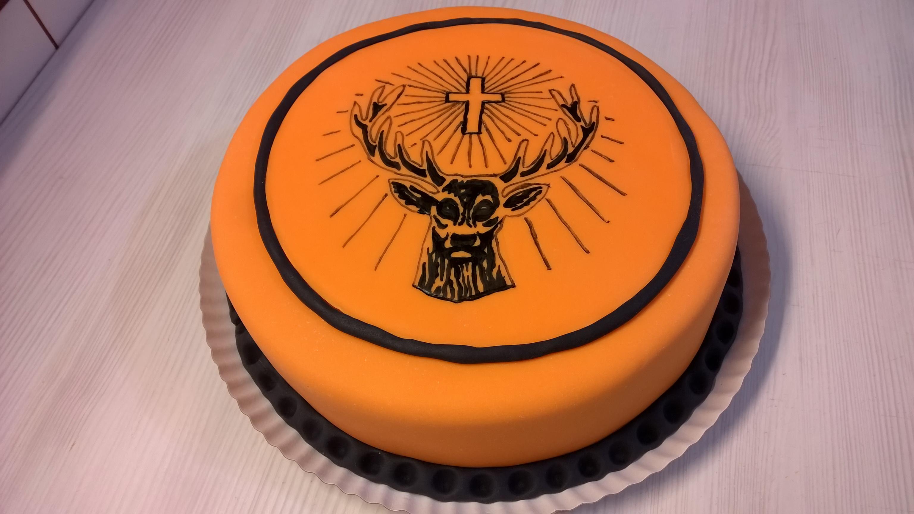 Jagermeister Birthday Cake