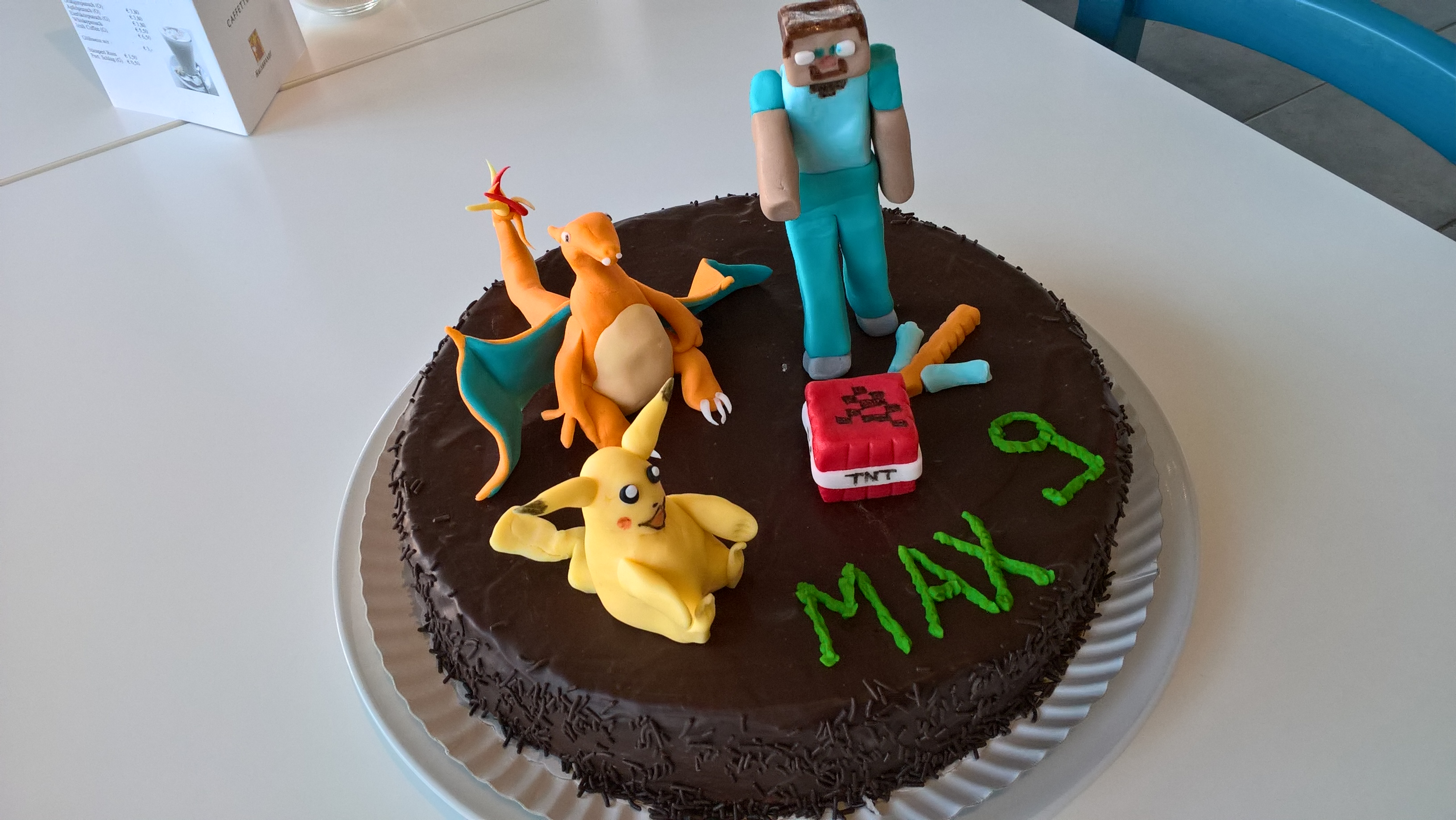 Pokemon Minecraft Tnt Torte