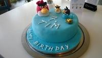 Angry Birds Torte